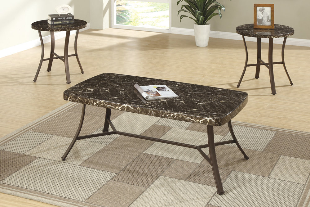 Susana 3-Piece Coffee Table Set : selena 3 piece occasional table set - pezcame.com