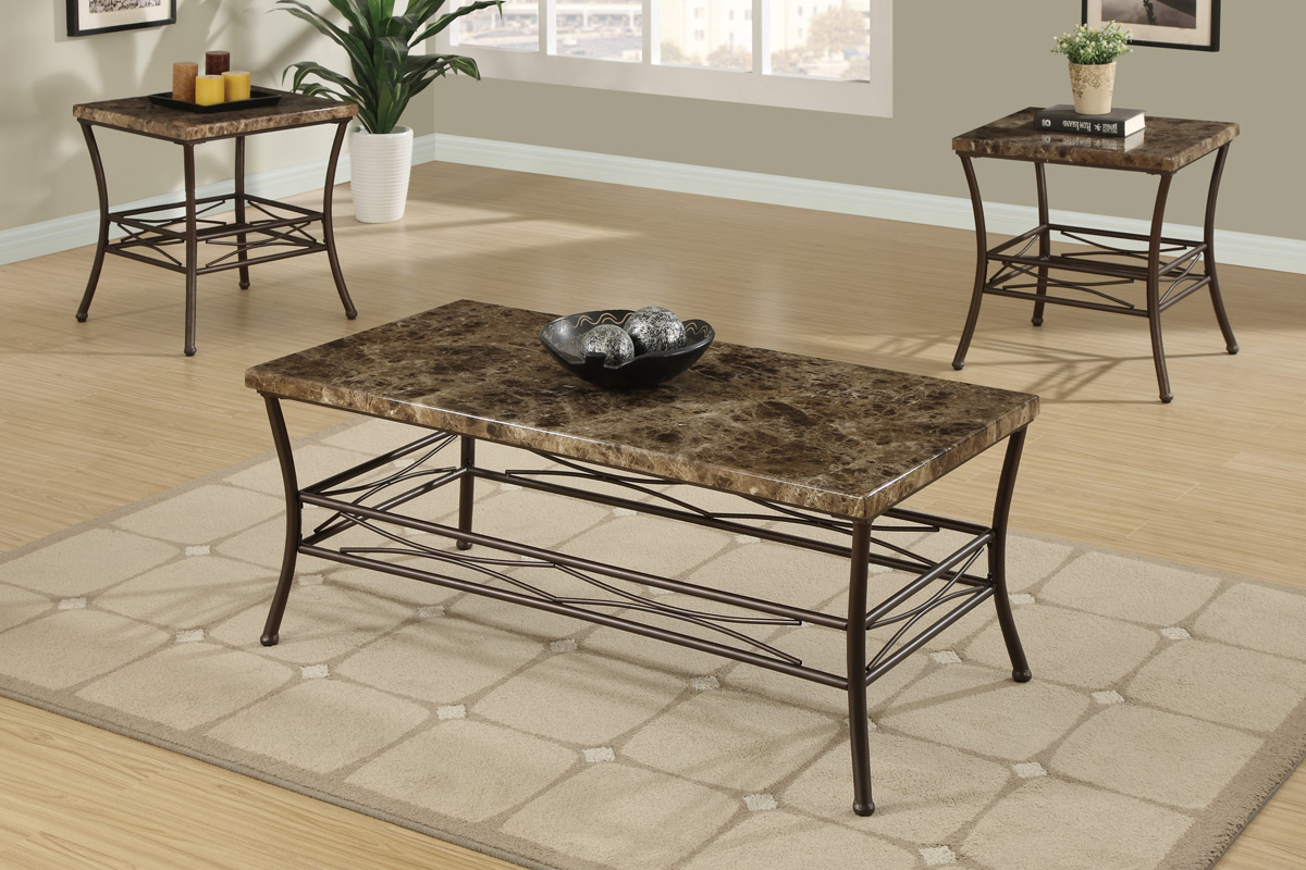 Cary 3 Piece Coffee Table Set