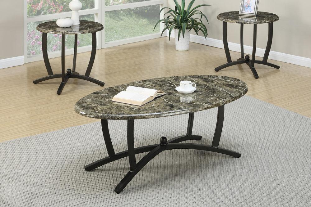 Amanda 3-Piece Coffee Table Set & Occasional Tables \u2014 Coco Furniture Gallery Furnishing Dreams