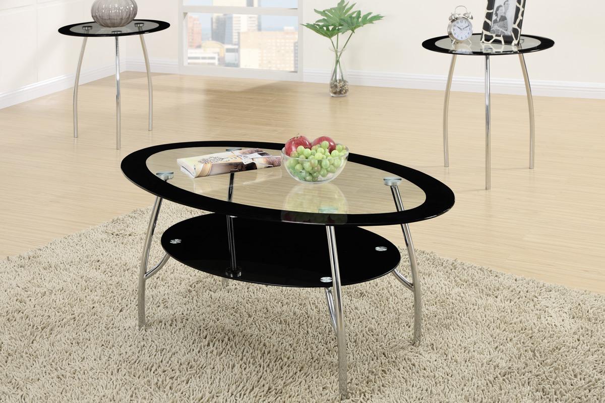Tara 3 Piece Coffee Table Set