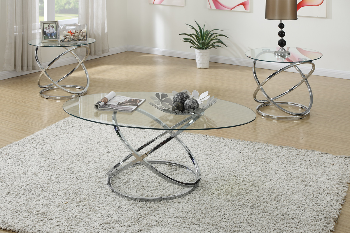 Merveilleux Karelia 3 Piece Coffee Table Set