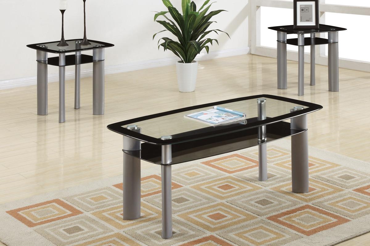 Sophia 3 Piece Coffee Table Set