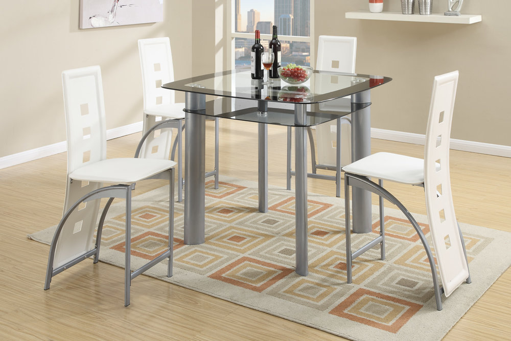 Dervin Counter Heigh 5PC Dining Set