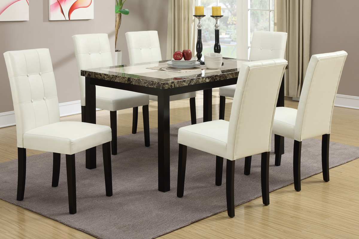 Dior 5PC Dining Set : poundex dining table set - pezcame.com