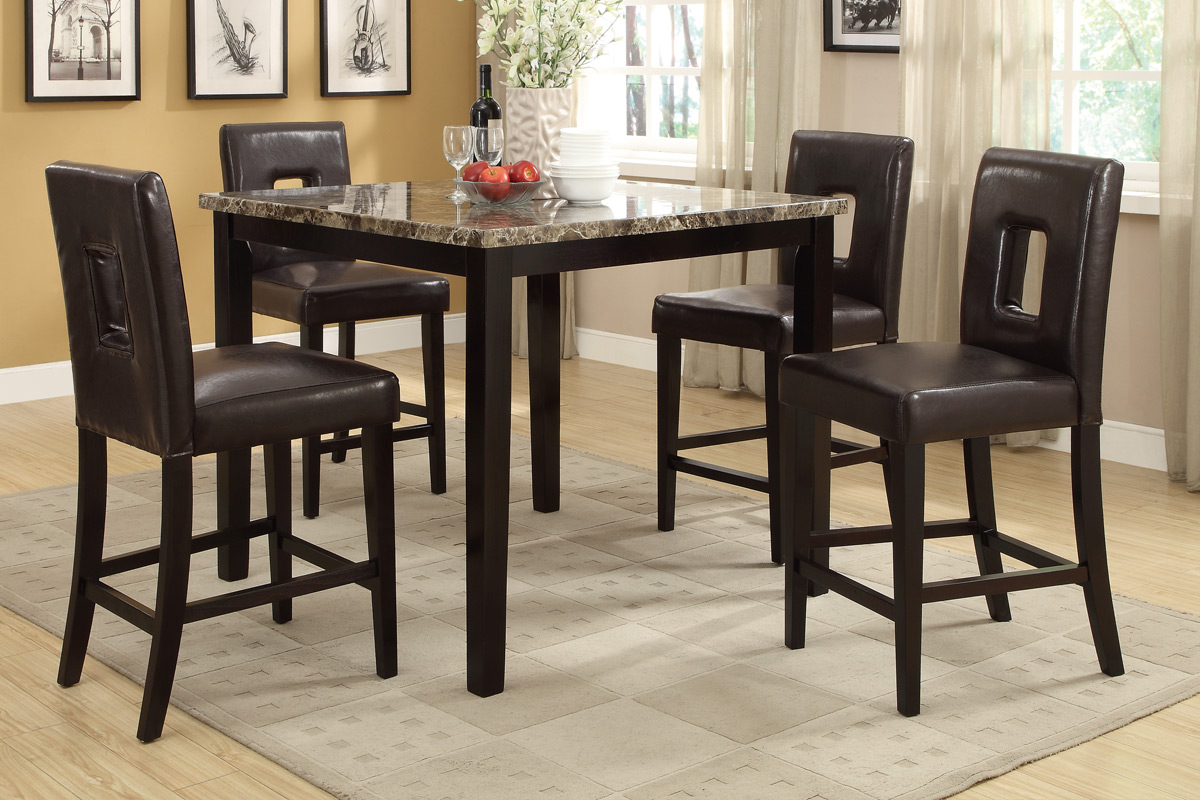 Exceptionnel Stella Counter Height 5PC Dining Set