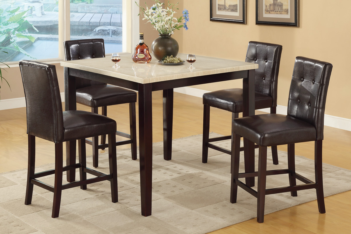 Kylie Counter Height 5PC Dining Set