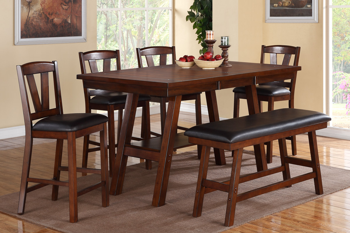 Ivy Counter Height 5PC Dining Set