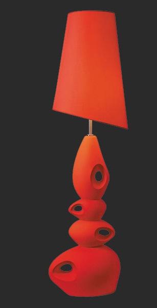 Margarete red floor lamp coco furniture gallery furnishing dreams margarete red floor lamp aloadofball Choice Image