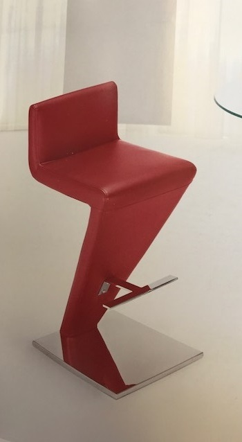 charle red barstool