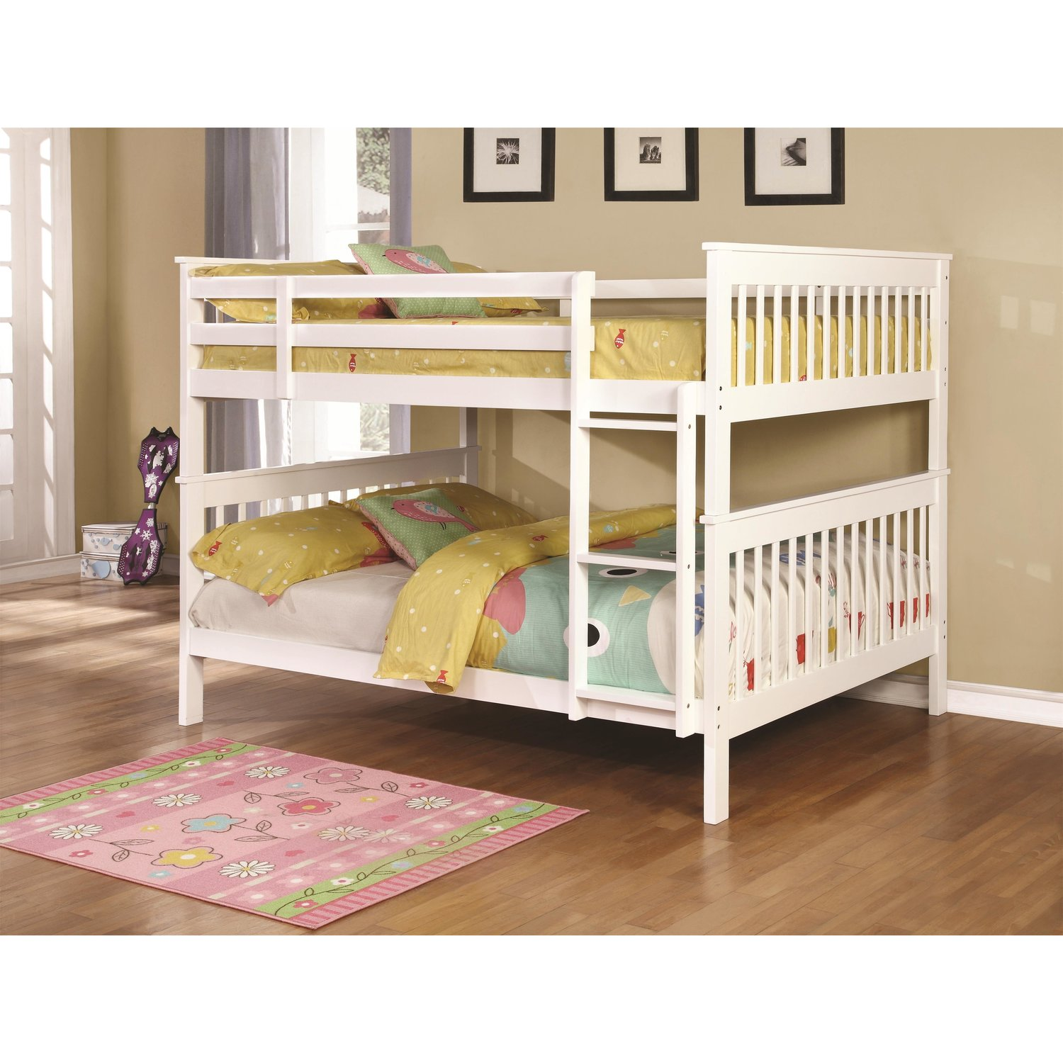 Lulu White Bunk Bed Coco Furniture Gallery Furnishing Dreams