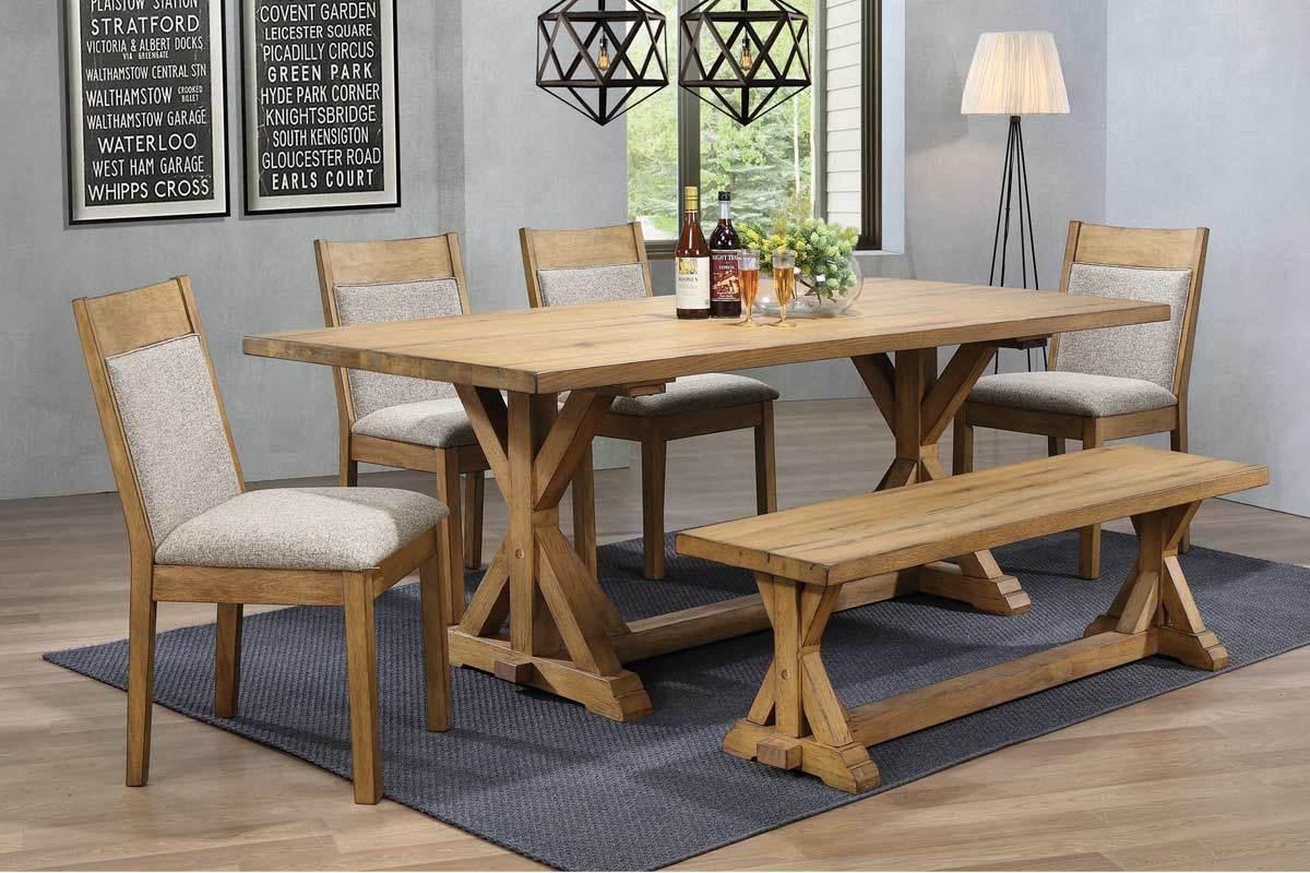 Benton 5pc dining set coco furniture gallery furnishing dreams