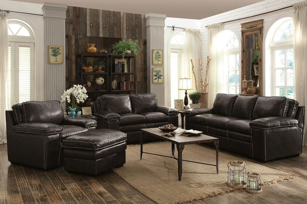 Jasmine Charcoal Sofa U0026 Loveseat Set Part 98