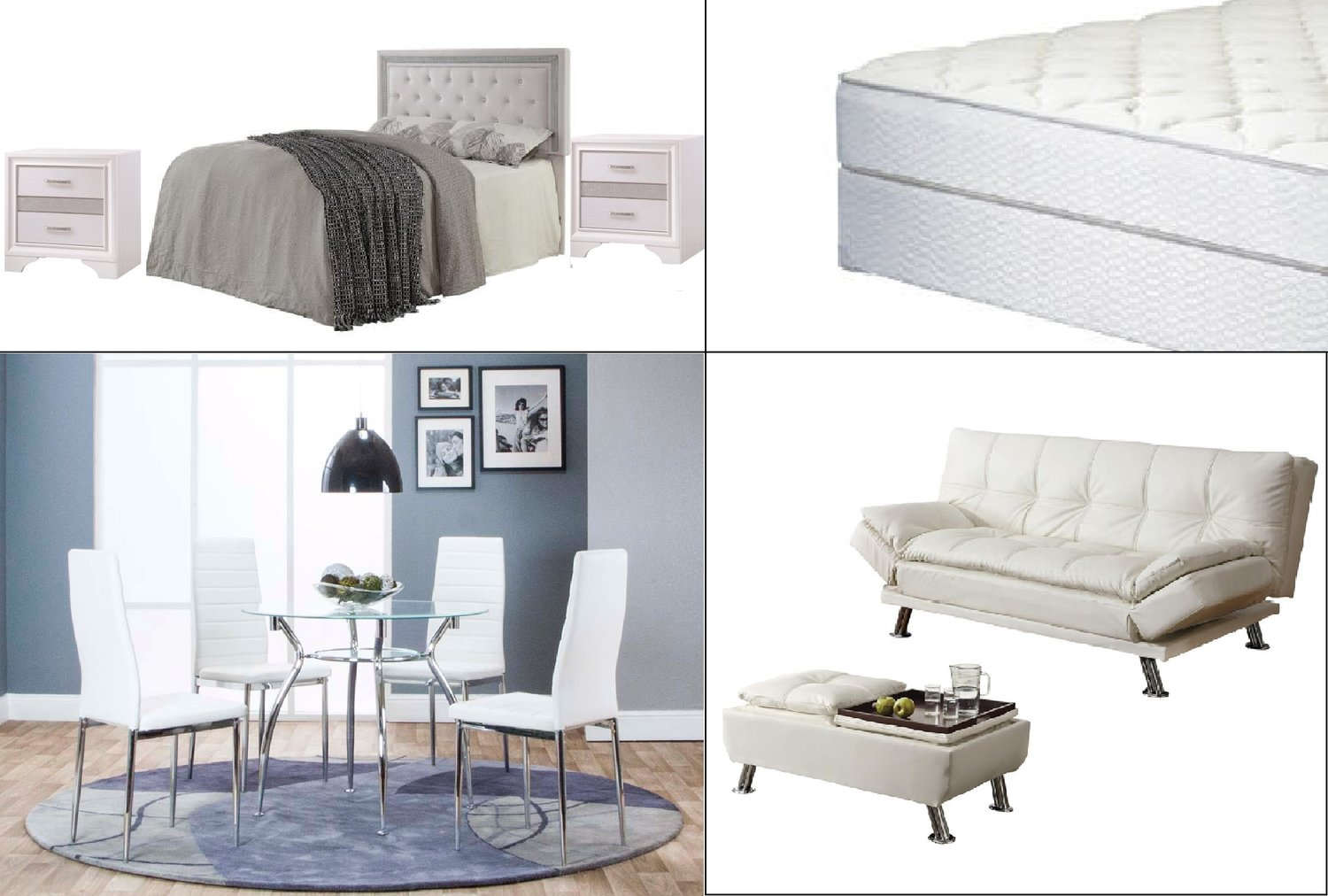 White Bling — Coco Furniture Gallery Furnishing Dreams