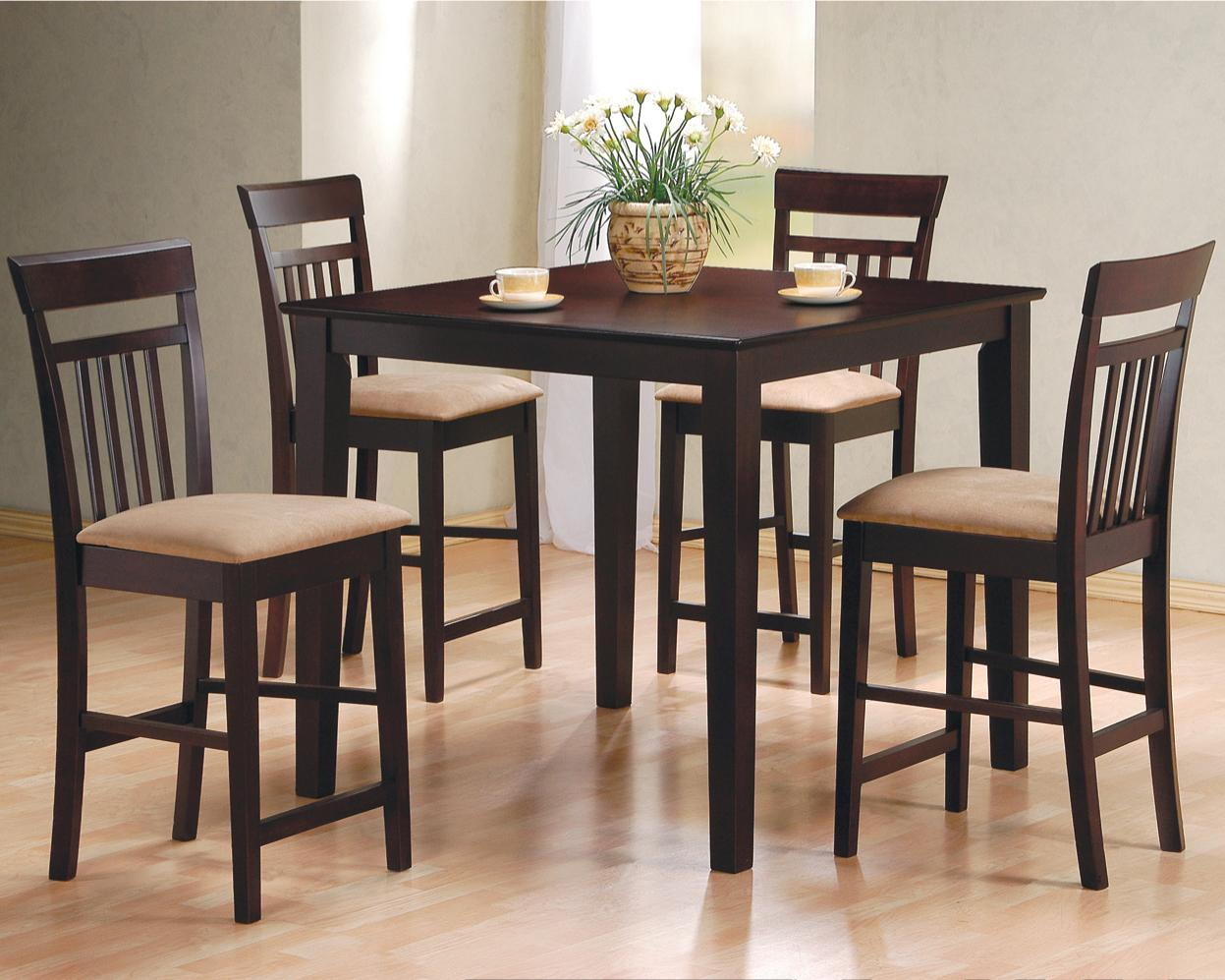 Roman Counter Height 5PC Dining Set