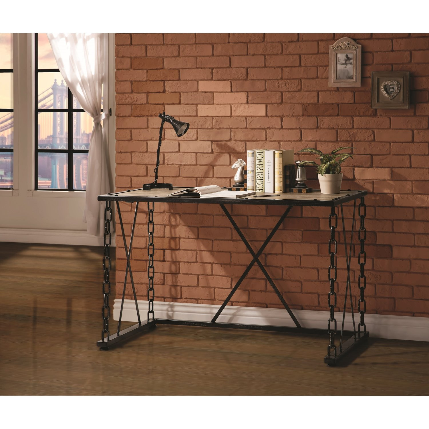 Rustic office desk coco furniture gallery furnishing dreams