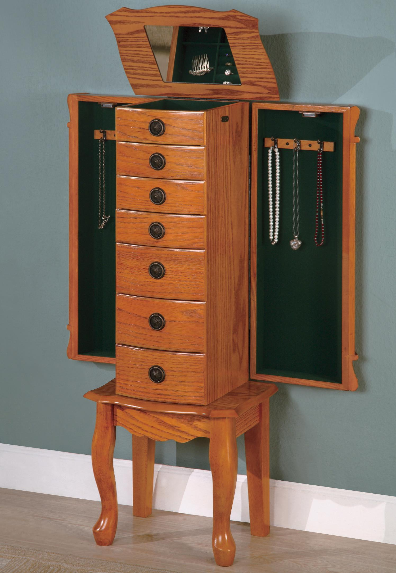 Dylan Brown Jewelry Armoire Coco Furniture Gallery Furnishing Dreams