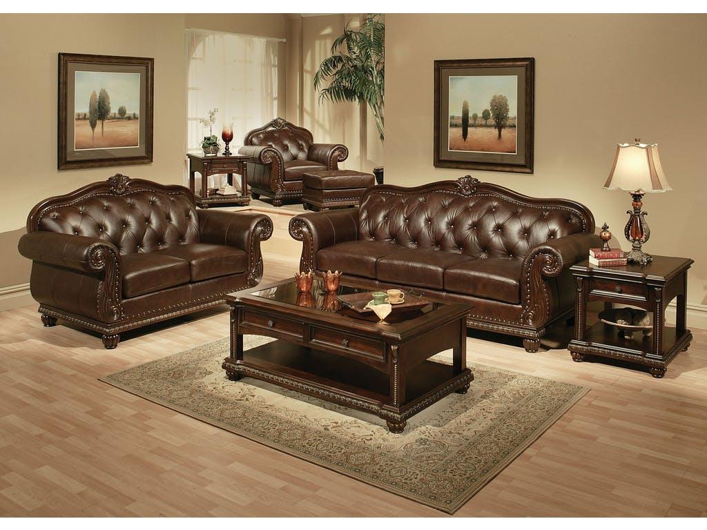 Remington Espresso Sofa