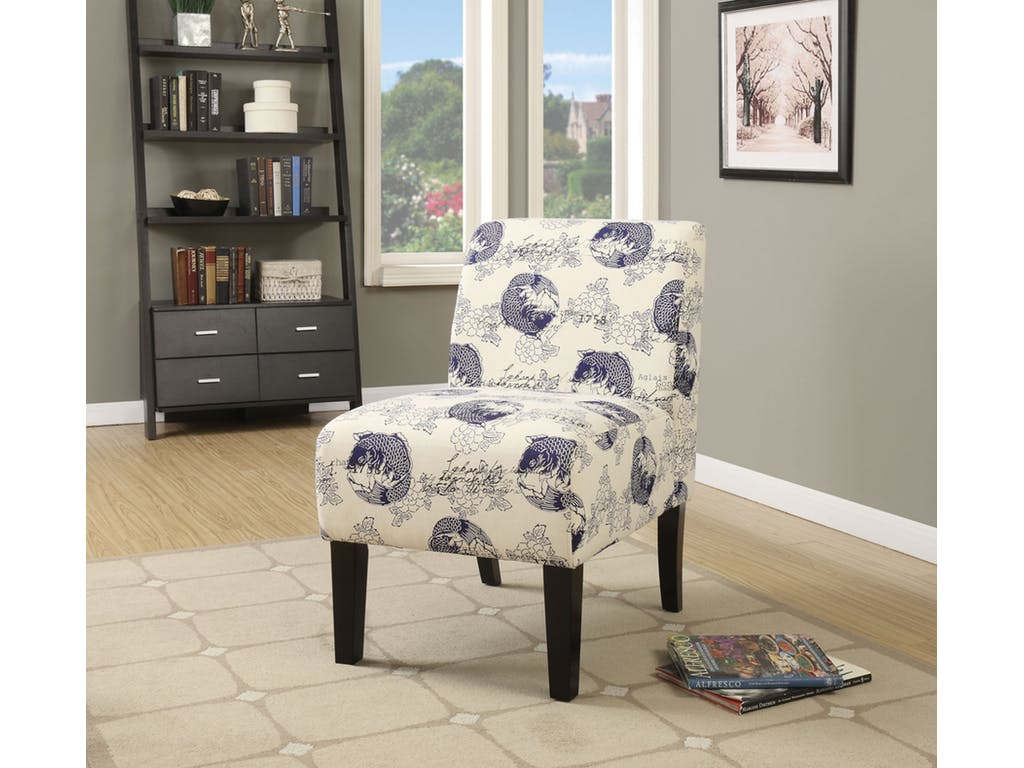 Carla Fabric Accent Chair