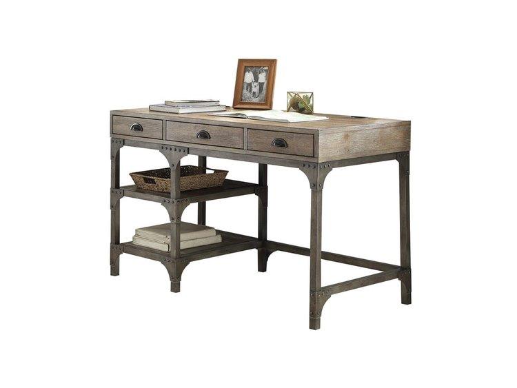 Doris Antique Oak Desk - Doris Antique Oak Desk — Coco Furniture Gallery Furnishing Dreams