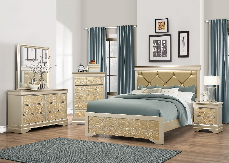 Superb Abel 4PC Bedroom Set