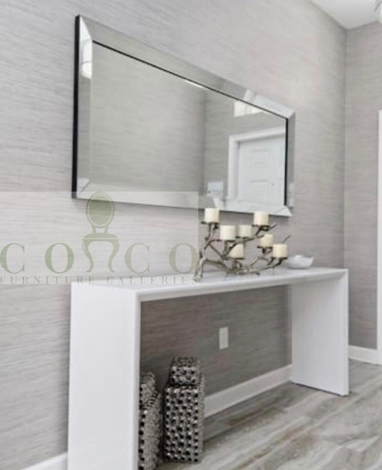 Bling, Bling, Bam, Bam! - Simple is the name of the game, but so is that wow factor! Showcasing the ever beautiful Loretta Mirror at only $169 this is a complete steal !