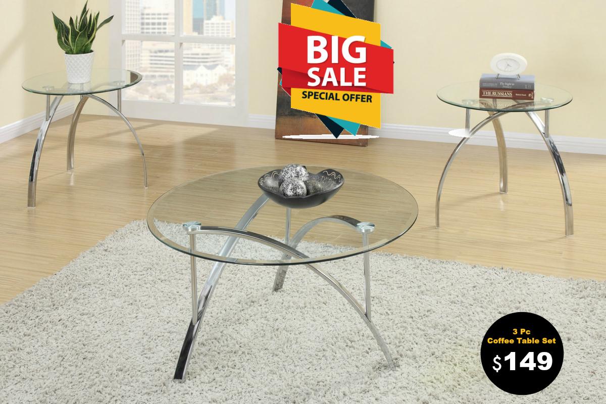 Liz 3pc coffee table set coco furniture gallery furnishing dreams