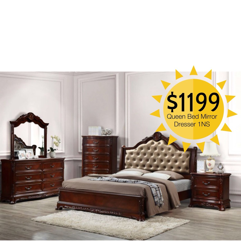 Viola 4pc bedroom set coco furniture gallery furnishing dreams