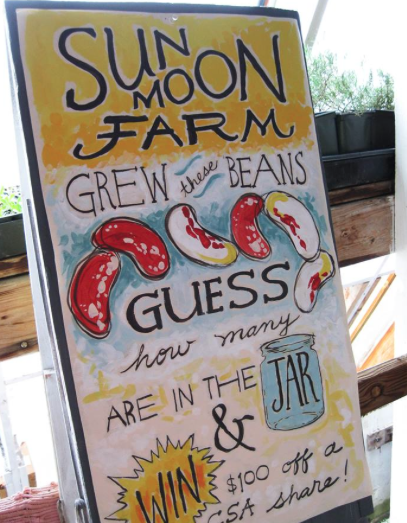 Sun Moon Farm at the Farm Share Fair