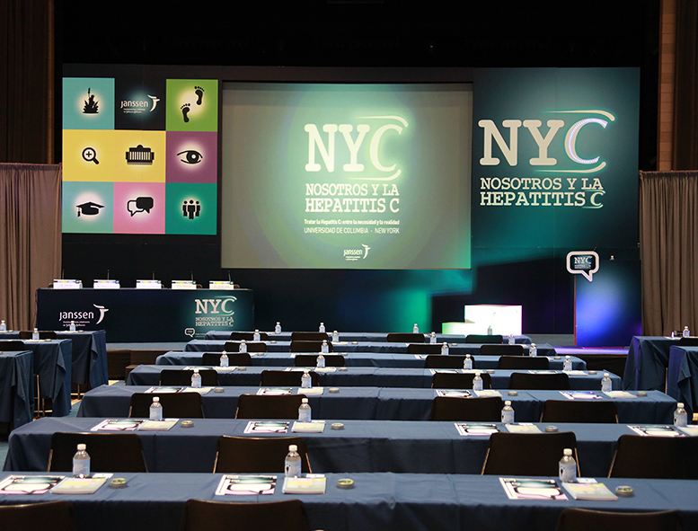 Medical conference venue for corporate event photography by Executive Photos NYC