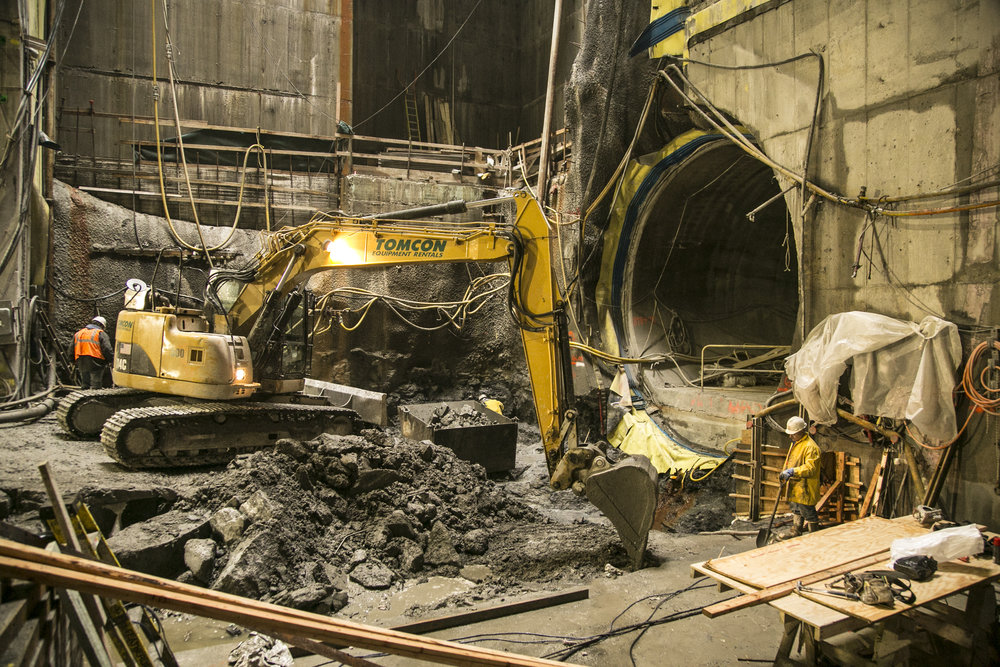 2nd avenue tunnel construction Industrial photography by corporate photographer Michael Benabib.jpg