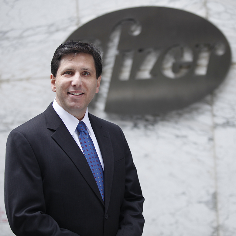 Pfizer executive Craig Lipset