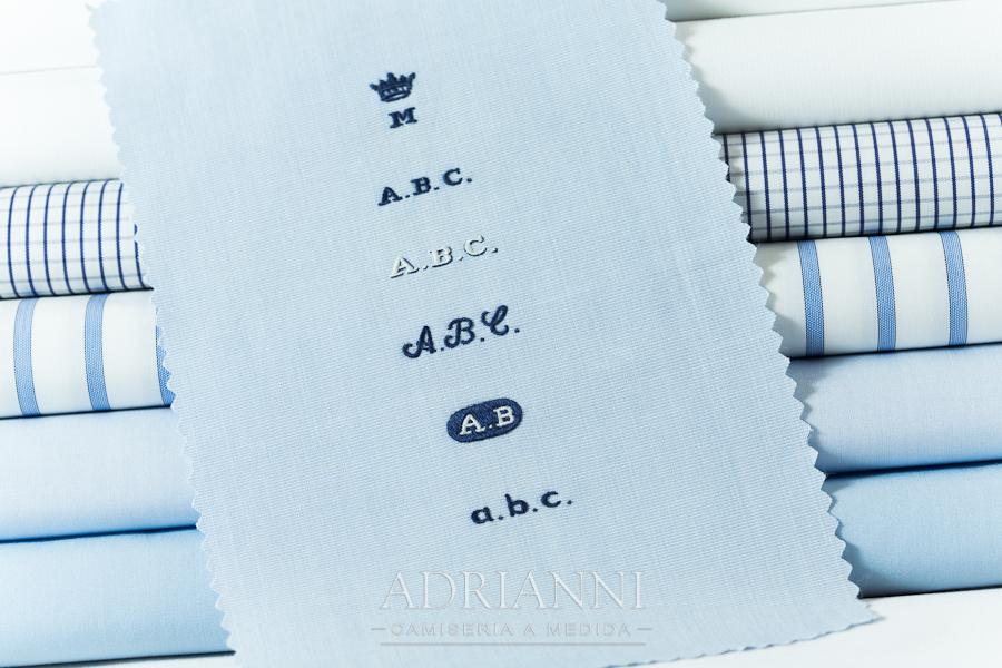 ADRIANNI Camisería - ejemplo de bordados a mano
