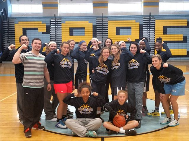 "#TeamMuscleUp: We are pleased to welcome Coach Lauren Carra and the 2016 Cape Henlopen High School Basketball Team (Lewes, DE) to the team! The girls will be ""Muscling Up"" against #DuchenneMuscularDystrophy this season! #slaMDunk #DunkMuscleDisease!  #MuscleMovementFoundation #MoveWithAPurpose #EndMuscleDisease! #TeamMuscleUp #CapeBasketball #CapeHenlopenBasketball #CapeHenlopen #CapeHenlopenHighSchool #slaMDunk #DunkMuscleDisease #PlayWithAPurpose #MuscleDisease #MuscularDystrophy"
