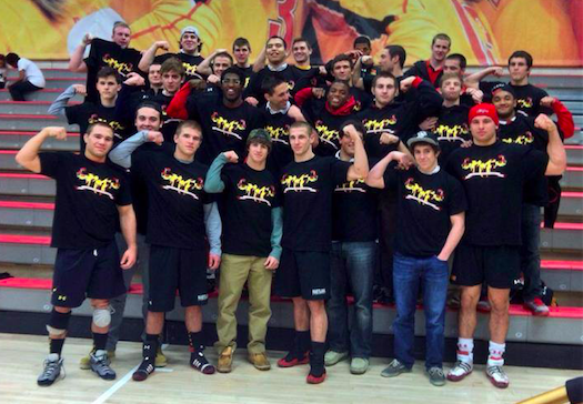 2014 University of Maryland Wrestling Team