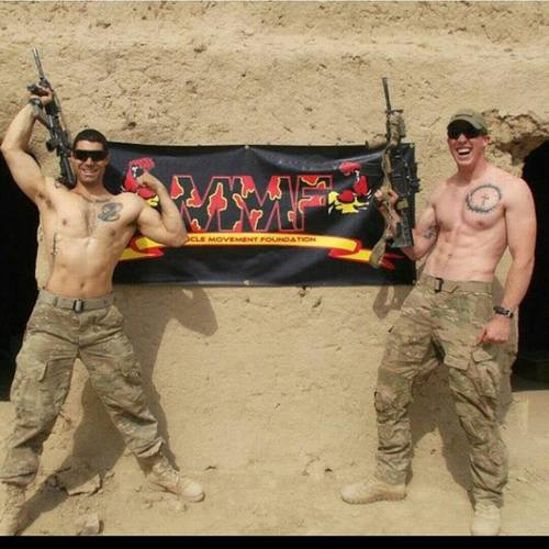 Members of our US Army requested a MMF banner to raise awareness in Afghanistan!