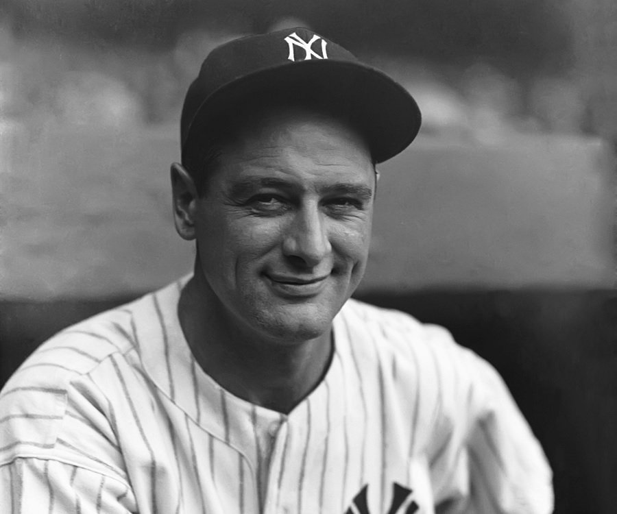 This month we honor the life of Lou Gehrig (1903-1941).