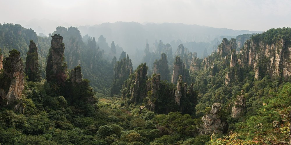 Wulingyuan Scenic and Historic Interest Area ( photo credit )