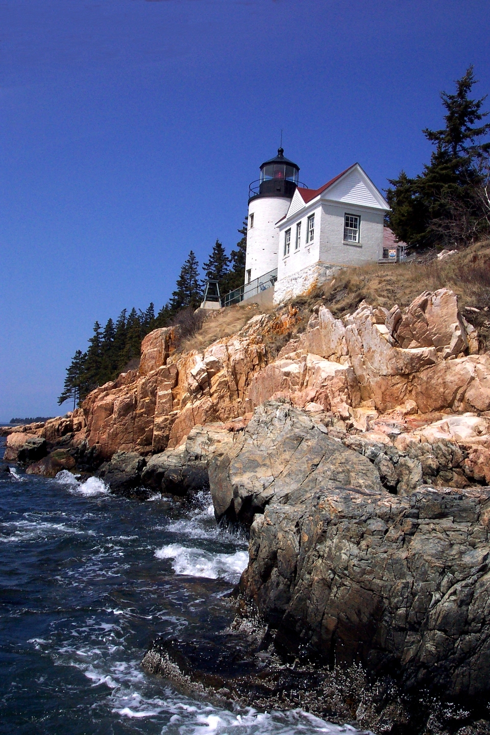 The famous Bass Harbor lighthouse, just 10 minutes from Beechwood.