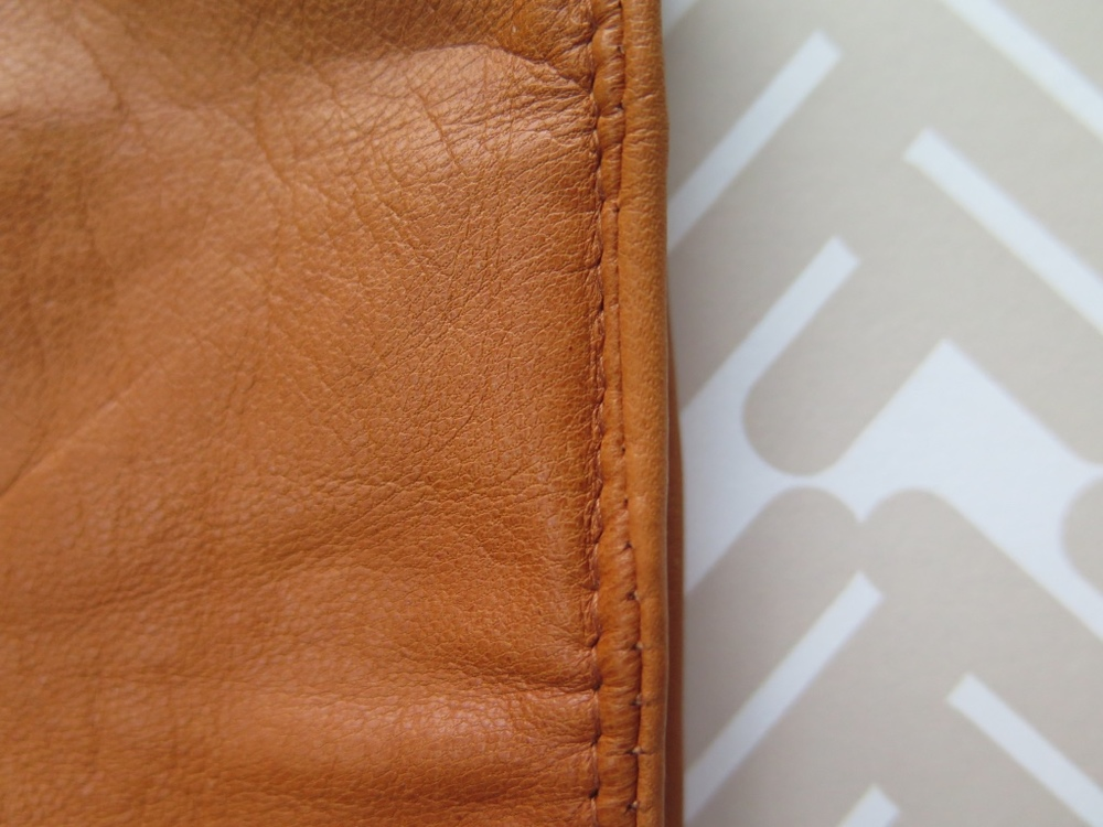 H&M tan leather gloves