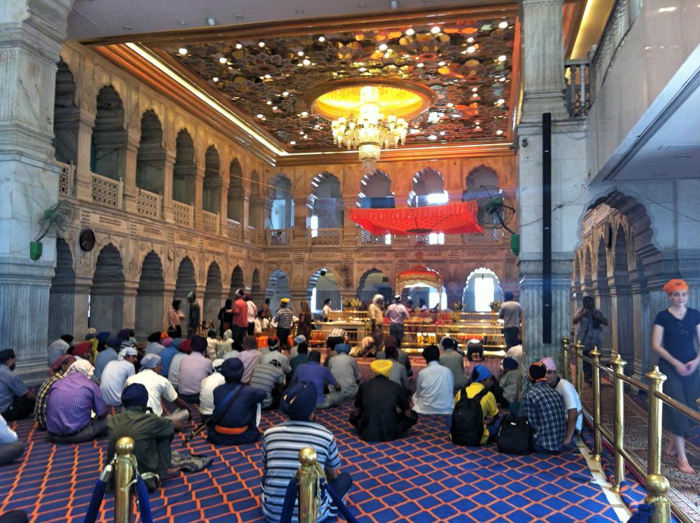 GURDWARA SIS GANJ SAHIB, DELHI INDIA