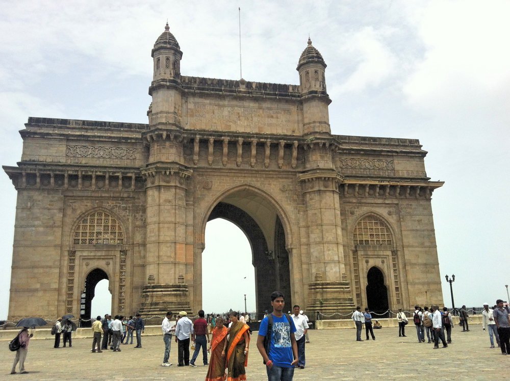 GATEWAY OF INDIA, MUMBIA, INDIA