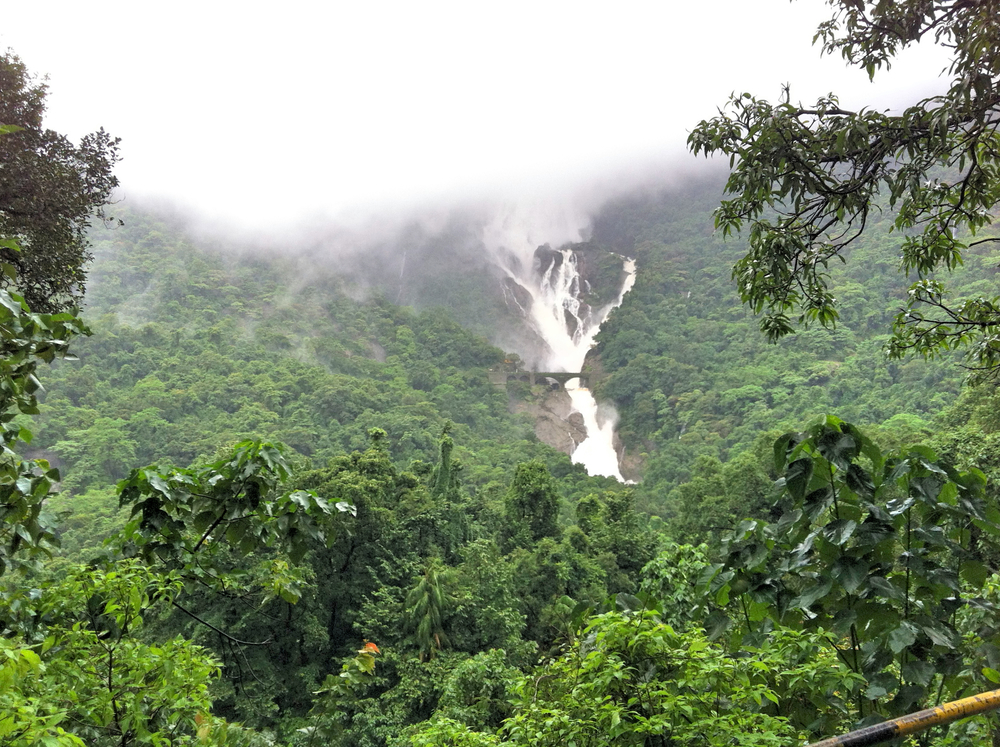 DHUDSAGAR WATERFALL, GOA, INDIA