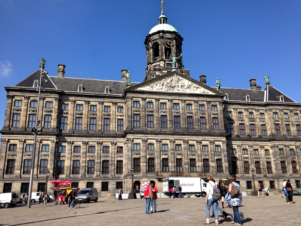 Royal Palace of Amsterdam, Dam Square