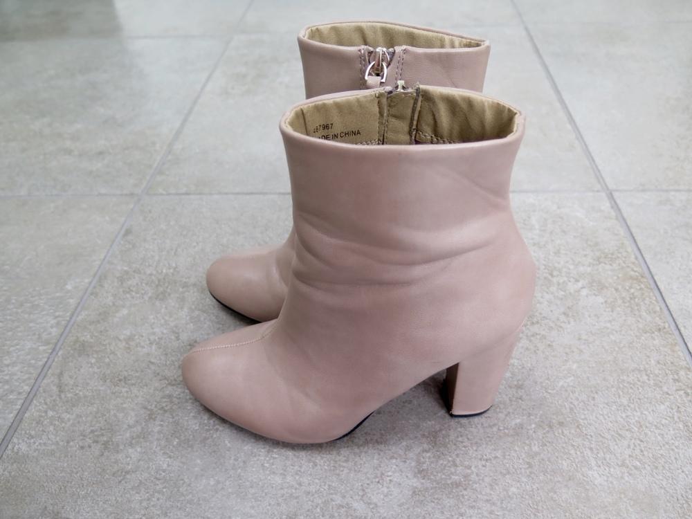 ASOS Tan Heeled Boots
