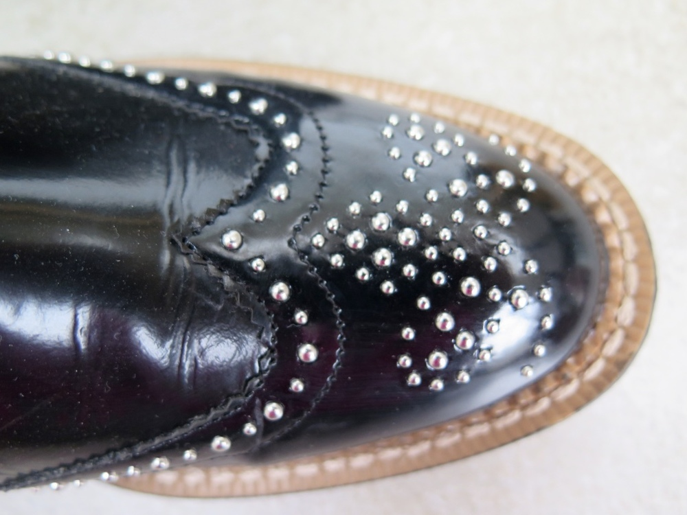 Zara Studded Chelsea Boots