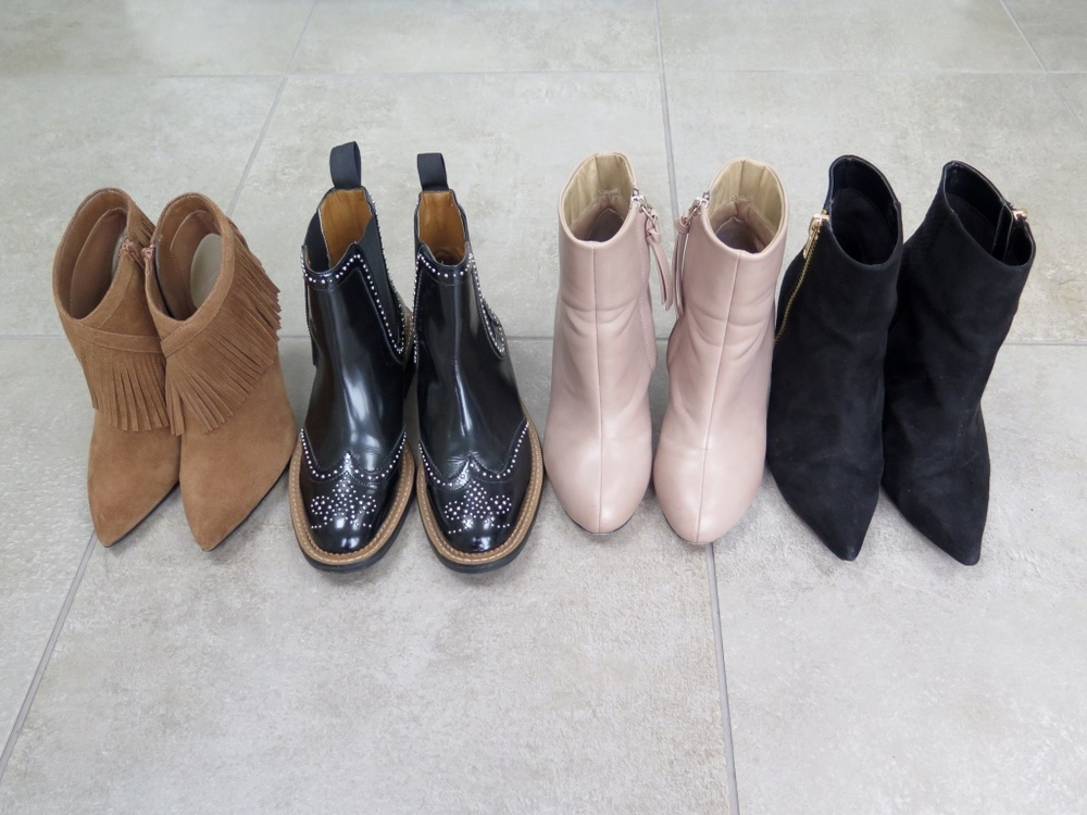 WINTER BOOTS: M&S FRINGE BOOTS, ZARA CHELSEA BOOTS, ASOS BOOTS & RIVER ISLAND BLACK POINTED BOOT