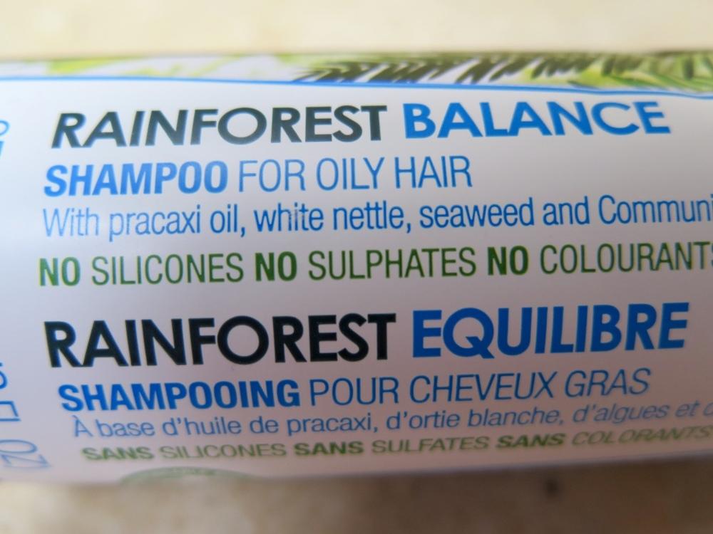 Body Shop Rainforest Balance Shampoo