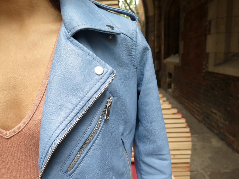 ASOS Body, Zara Faux Leather Jacket