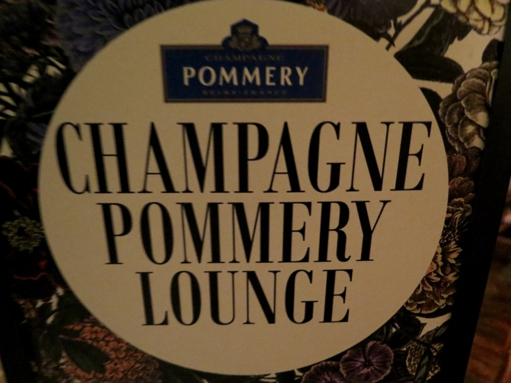 CHAMPAGNE POMMERY LOUNGE, SKETCH, LONDON