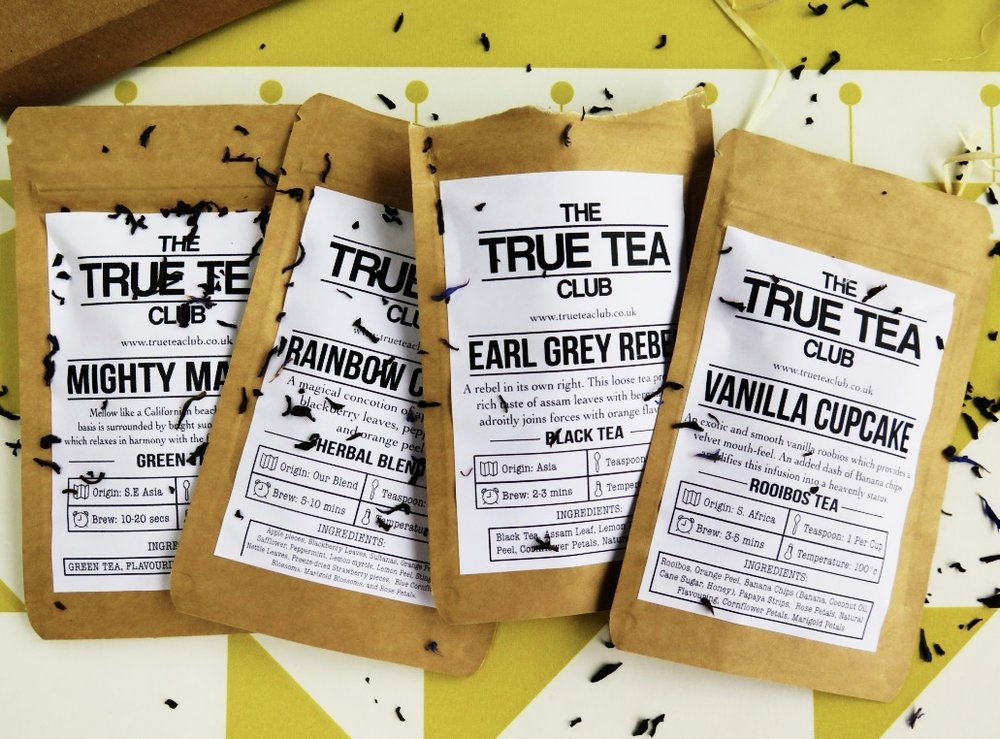 THE TRUE TEA CLUB SUBSCRIPTION BOX
